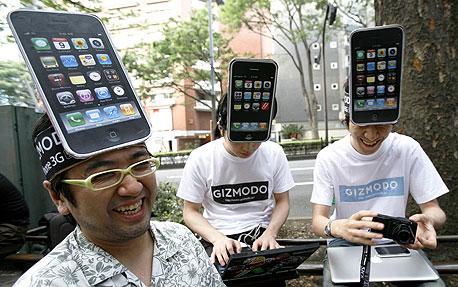 השקת דגם האייפון האחרון ביפן