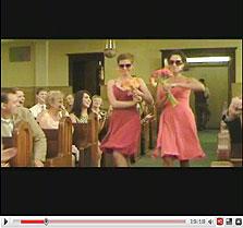 סרטון החתונה. 20 מיליון צפיות ואף לא סנט אחד, צילום מסך: youtube.com