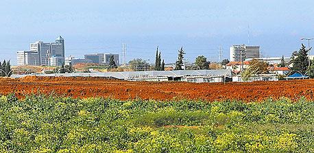 קרקע חקלאית באזור המרכז