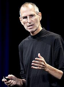 """מנכ""""ל אפל סטיב ג'ובס. רצה להיות """"נייקי של הגאדג'טים"""""""