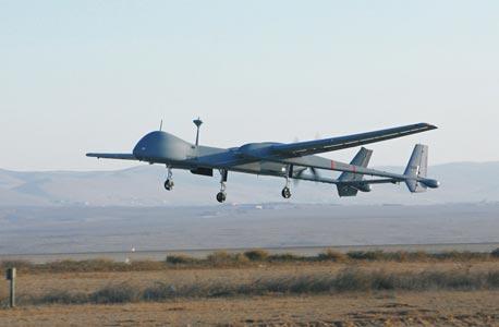 """מל""""ט מסוג הרון TP של התעשייה האווירית, צילום: תעשייה האווירית"""