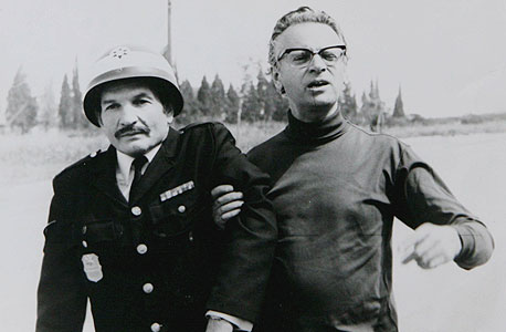 """מתוך הסרט """"השוטר אזולאי"""""""