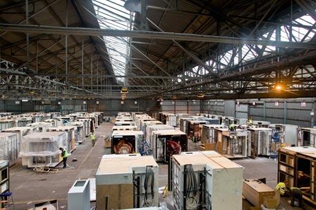 """המפעל לייצור ה""""פודים"""" בצפון אנגליה"""