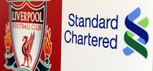 """לוגו הבנק וסמל המועדון. 20 מיליון ליש""""ט בשנה"""