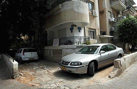 מרכז תל אביב. חניה יצירתית