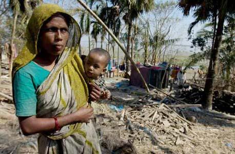 רעב ועוני בבגלדש, צילום: בלומברג