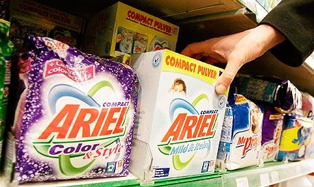 אבקת כביסה של פרוקטר אנד גמבל, חברת מוצרי הצריכה הנחשקת על ידי העובדים