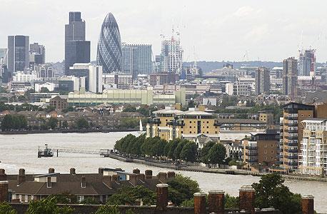 הסיטי של לונדון, צילום: בלומברג