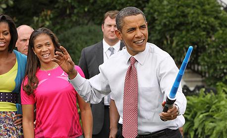 ברק אובמה נשיא ארצות הברית, צילום: MCT
