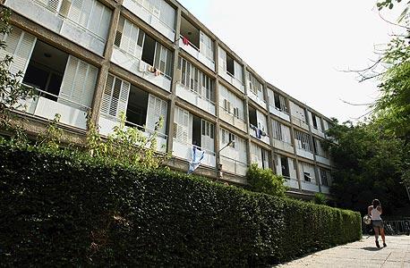 מעונות סטודנטים סמוך לאוניברסיטת תל אביב, צילום: עמית שעל
