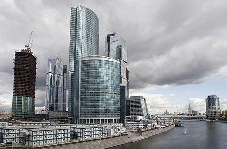 הרובע הפיננסי של מוסקבה, צילום: בלומברג