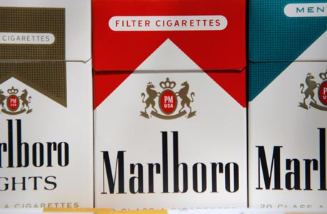 סיגריות של מרבלורו, בייצור פיליפ מוריס, צילום: בלומברג