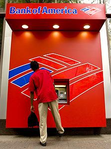 בנק אוף אמריקה. כבר לא בעשירייה הפותחת, צילום: בלומברג