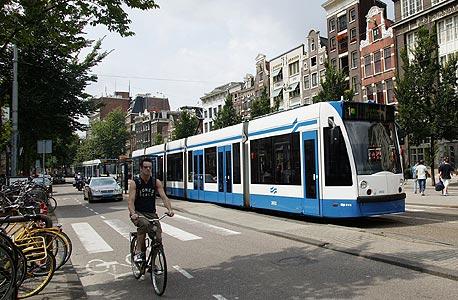 רכבת קלה של סימנס באמסטרדם