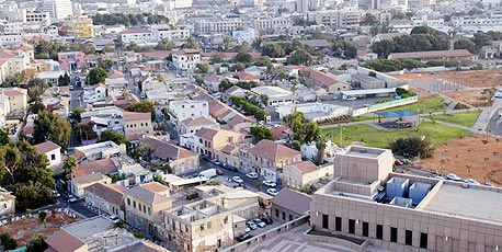 """בנייה בנווה צדק בתל אביב. ישנו ביקוש גבוה מתושבי החוץ ש""""מעדיפים להכניס את הכסף לקירות"""""""