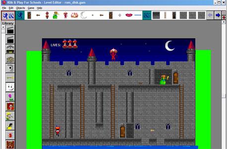 יצירת משחקים עם Klik & Play - ללא שום ידע או נסיון מוקדם