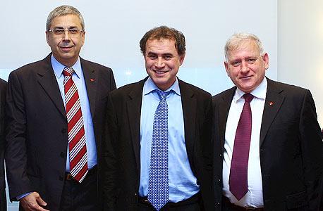 מימין יאיר סרוסי רוביני ו ציון קינן, צילום: אוראל כהן
