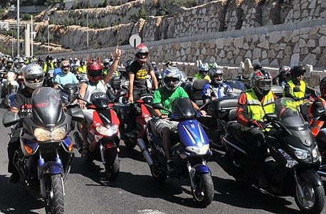 מחאת האופנוענים