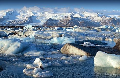 קרחון קרחונים ב קוטב צפוני אנטארטיקה קרח, צילום: shutterstock