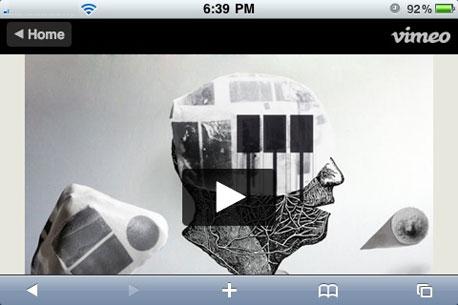 צפייה בסרטון מוימאו באייפון