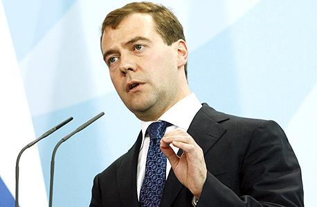 דימטרי מדבדב, ראש ממשלת רוסיה, צילום: בלומברג