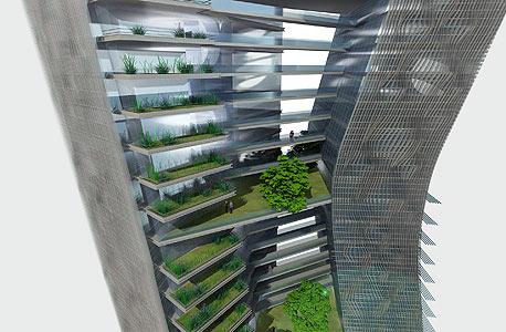 בית ירוק בתכנון קנפו כלימור אדריכלים (הדמייה)