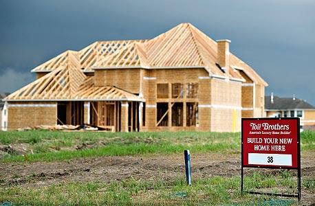 """ארה""""ב: הוצאות הבנייה ירדו לרמתן הנמוכה מזה עשור"""