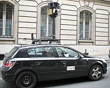 רכב איסוף של גוגל סטריט וויו, צילום: ollografik cc-by-nd