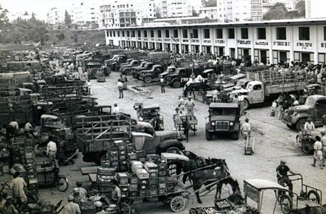 השוק הסיטונאי בתל אביב בימיו הראשונים