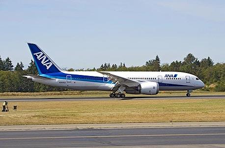 בואינג 787 דרימליינר חברת תעופה מטוס ANA יפן, צילום: בלומברג