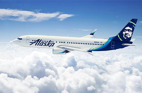 מטוס של חברת התעופה אלסקה איירליינס