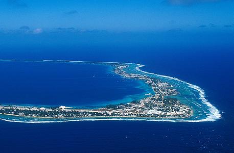 איי מרשל באוקיאנוס השקט. הכי רחוק מעינם הפקוחה של רשויות המסים