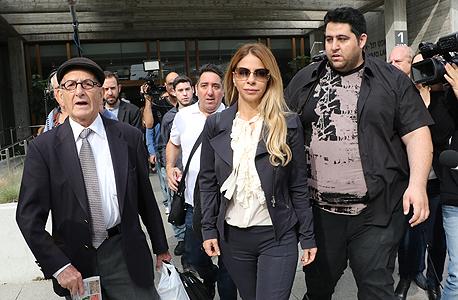 ענבל אור בבית המשפט, צילום: שאול גולן