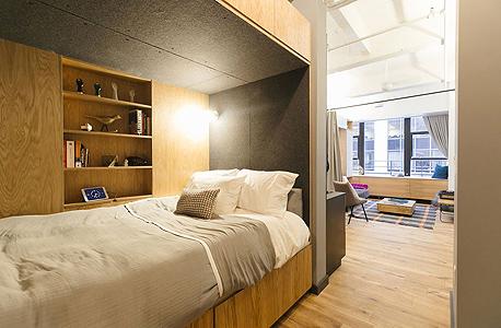 WeLive  חדרים להשכרה WeWork ניו יורק 6, צילום: WeWork