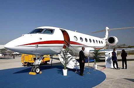 מטוס מנהלים גאלפסטרים G650, צילום: בלומברג
