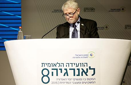 הוועידה הלאומית לאנרגיה יוסף שפירא מבקר המדינה, צילום: דרור סיתהכל