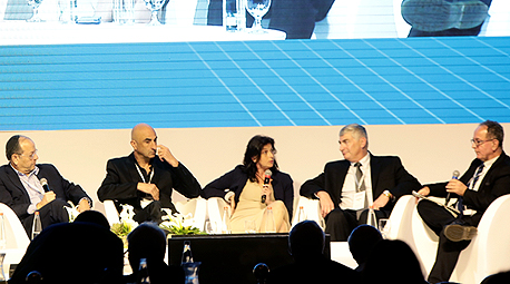 הוועידה הלאומית לאנרגיה פאנל מימון והשקעות תשתיות אנרגיה, צילום: דרור סיתהכל
