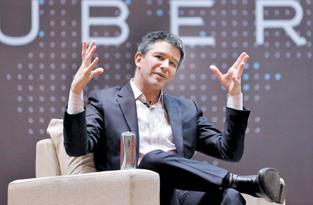"""טראוויס קלניק מנכ""""ל אובר. לא רוצה את גוגל בדירקטוריון, צילום:רויטרס"""