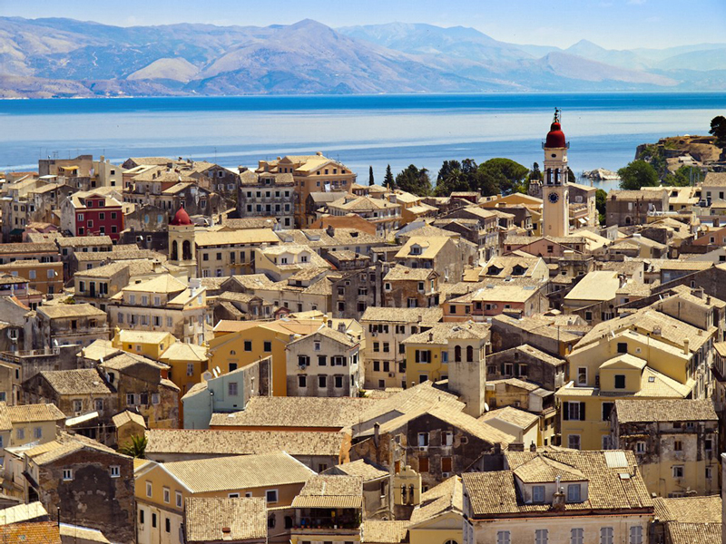 קורפו, יוון