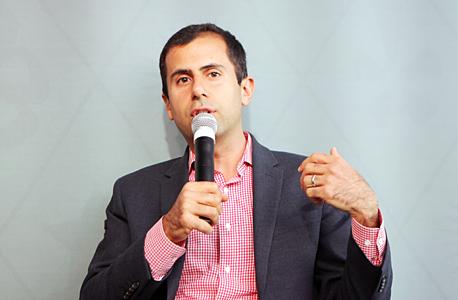 """מייק ג'אפרי, מנכ""""ל Eat24, צילום: עמית שעל"""