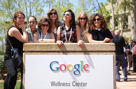 משתתפי הועידה במטה גוגל, צילום: עמית שעל
