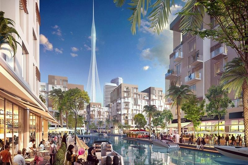 הדמיית המגדל, צילום: emaar