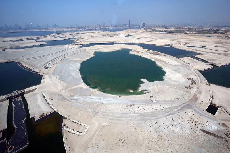 השטח עליו ייבנה המגדל הגבוה בעולם, צילום: emaar