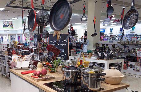 מטבח הדגמה ב המשביר לצרכן, צילום: שוקה כהן