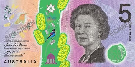 שטר של 5 דולר אוסטרלי