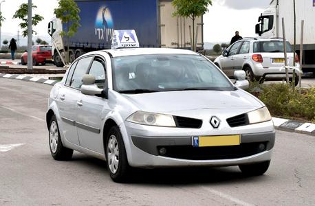 רכב לימוד נהיגה, צילום: שרון צור