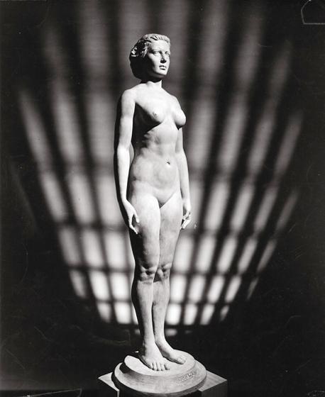 פסל האשה האולטימטיבית במוזיאון קליבלנד