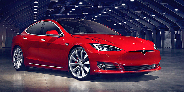 המכוניות החשמליות של טסלה יגיעו לארץ ביוני