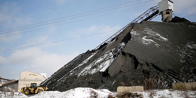 """מכרה פחם בארה""""ב, צילום: בלומברג"""