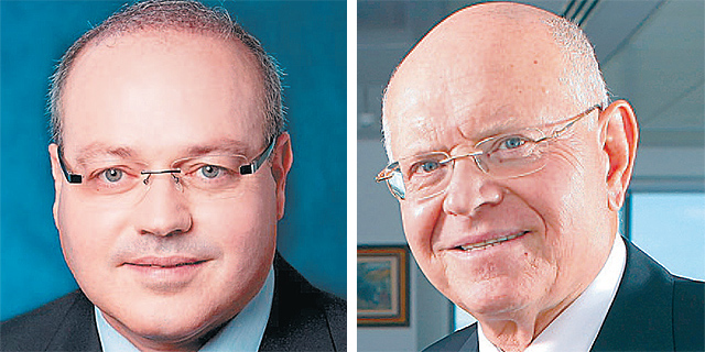 """מימין: מנכ""""ל כלל ביטוח איזי כהן ומנכ""""ל הראל ביטוח מישל סיבוני, צילום: עמית שעל, ורדי כהנא"""